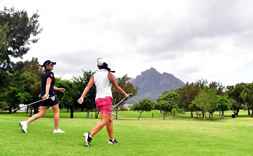 Perfect Park pilots the SA Women's Masters