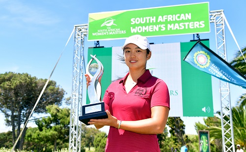 Ice-cool Park stuns for SA Women's Masters success