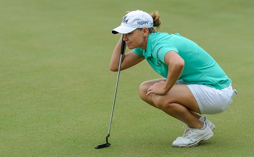 Pace closes in on history at SA Women's Open