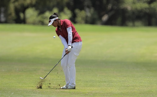 Matharu holds all the cards at Ladies Tshwane Open