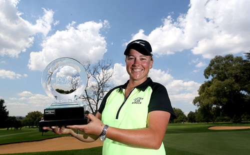 Williams steers Sunshine Ladies Tour to dramatic finale
