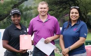 Zethu Myeki PinkStig 2017 Leading Amateur prize-winner