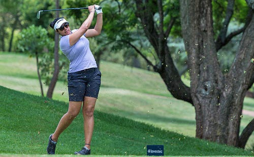 Matharu managing big Sunshine Ladies Tour expectations