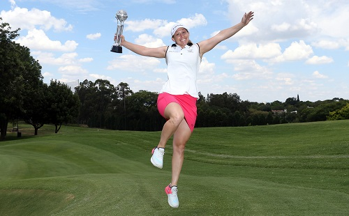 Bregman banks Canon Ladies Tshwane Open title