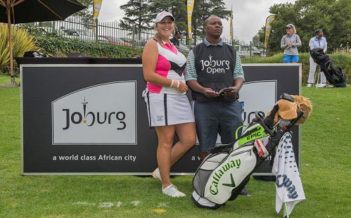Samu targets 'home' victory in Joburg Ladies Open