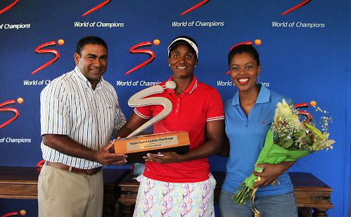Dlamini shakes the bridesmaid tag at Wild Coast