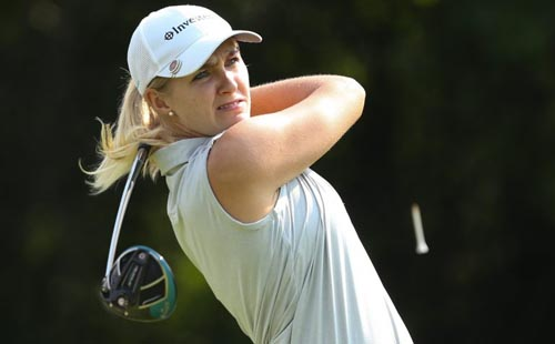 Lewthwaite pitching for Sunshine Ladies Tour double