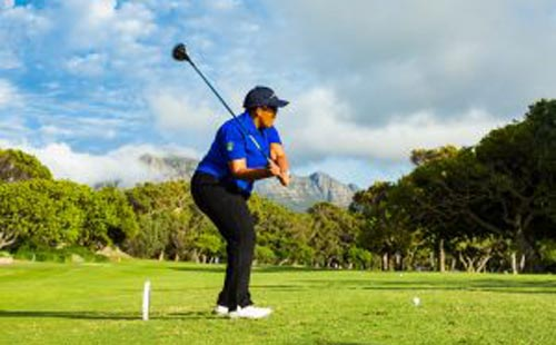 Xasa tees off the Investec SA Women's Open