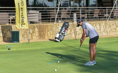 Mistry fired up for Jabra Ladies Classic