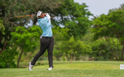 Dlamini dominates in wind to lead at Selborne