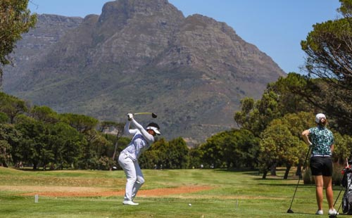 Dlamini edges ahead in Cape Town Ladies Open