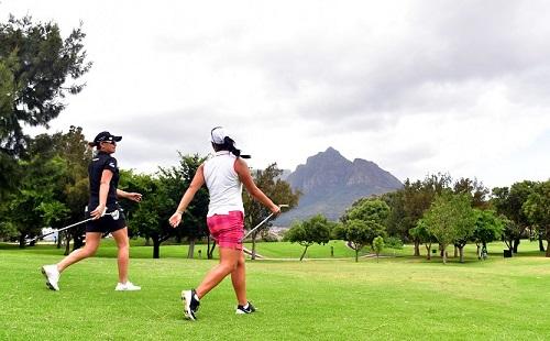 Perfect Park pilots the SA Women's Masters
