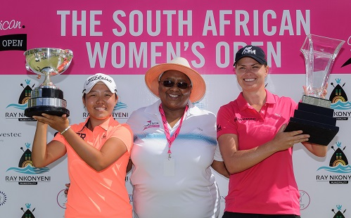 Hat-trick hero Pace signs off in style at SA Women's Open