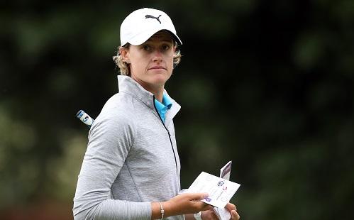 Strauss, Smit split SuperSport Ladies Challenge lead