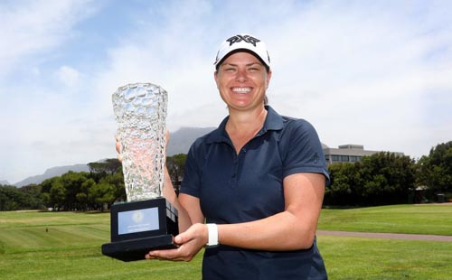 Pace seals Cape Town Ladies Open hat-trick in style