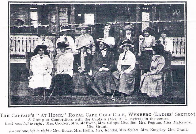 Lady Golfers in 1912